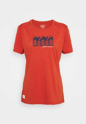 SVALBARD - Print T-shirt - rooibos tea