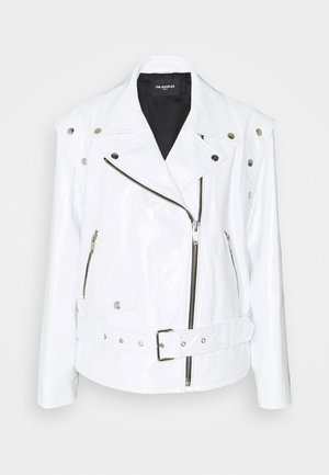 Leather jacket - white