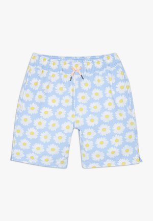 DAISY TRUNK - Swimming shorts - light blue white
