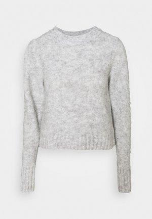 ANGELA - Strikkegenser - light grey
