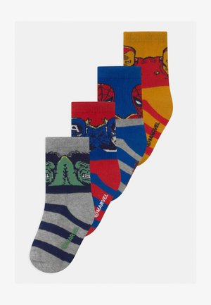 TODDLER BOY MARVEL SUPERHEROES 4 PACK - Socks - multi-coloured