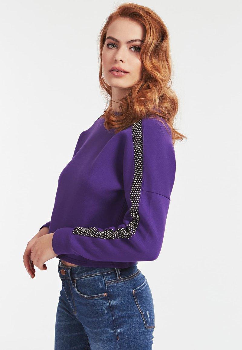 Guess - Sweatshirt - violett