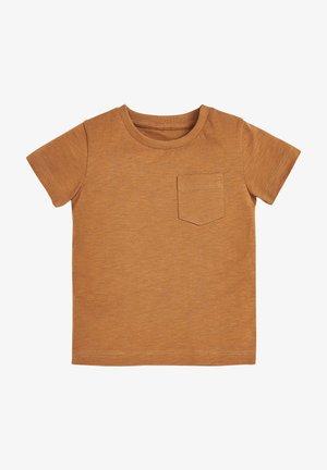 SHORT SLEEVE - Basic T-shirt - brown