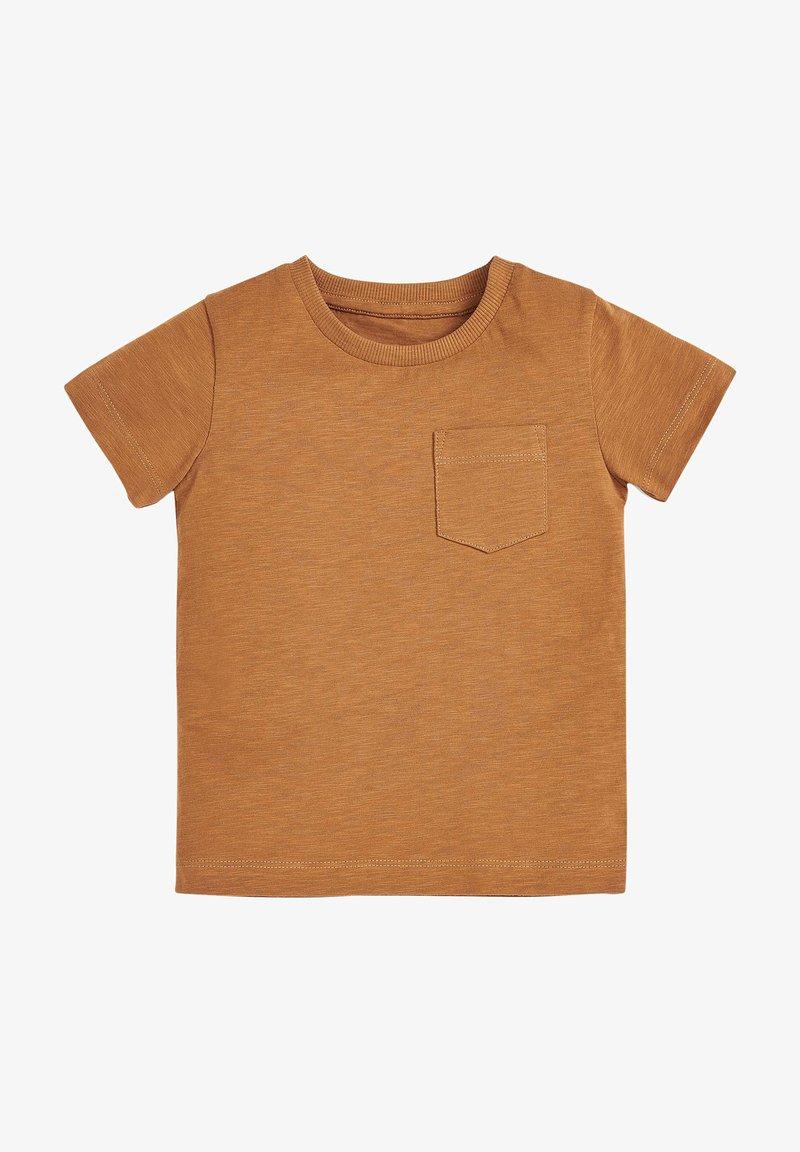 Next - SHORT SLEEVE - Camiseta básica - brown