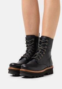 Panama Jack - MIREN  - Lace-up ankle boots - black - 0