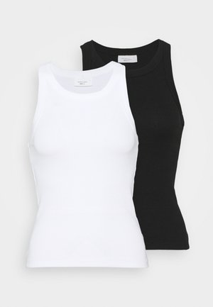 NOVA TANK 2 PACK - Top - black/white