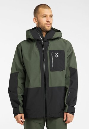 LUMI JACKET - Ski jacket - fjell green/true black