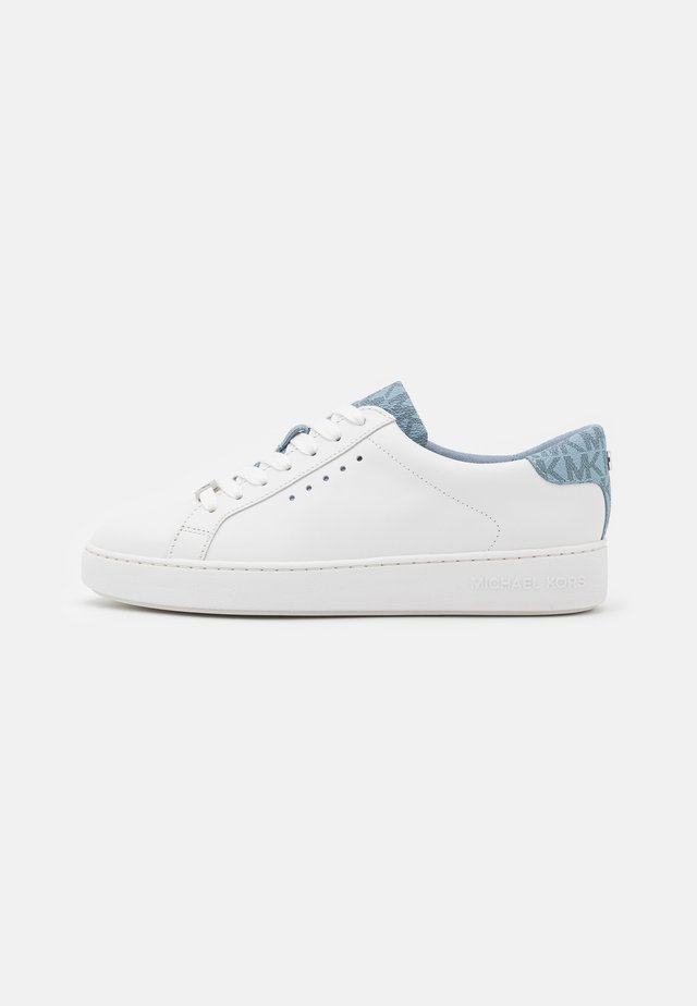 IRVING LACE UP - Sneakersy niskie - optic white/pale blue