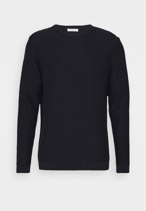 FIELD CREW NECK - Jumper - dark blue