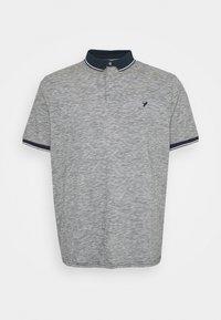 Pier One - Polo shirt - mottled dark blue - 0
