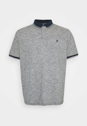 Polo - mottled dark blue