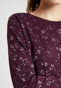 Ragwear - MENITA FLOWERS - Kjole - wine red - 5