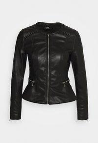 ONLY - ONLJENNY JACKET - Faux leather jacket - black - 4