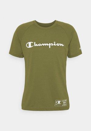 CREWNECK - T-shirt z nadrukiem - khaki