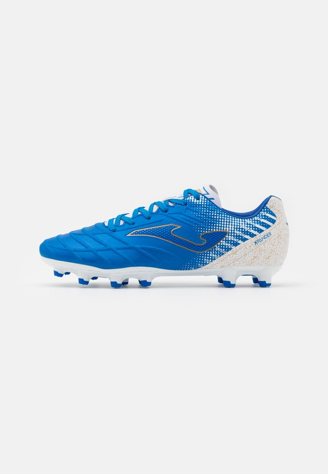 XPANDER - Moulded stud football boots - blue