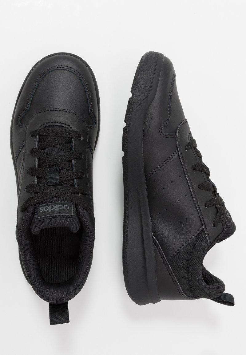 adidas Performance - VECTOR K UNISEX - Sports shoes - core black/grey six