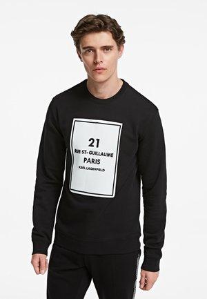 BOX ADDRESS LOGO  - Sweatshirt - black