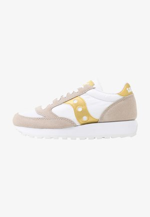 JAZZ VINTAGE - Sneaker low - white/gold