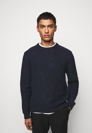 CREW NECK - Jumper - dark blue