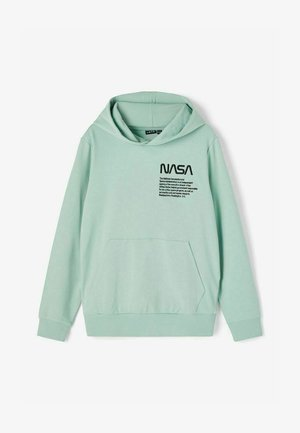 NASA - Sweat à capuche - blue surf