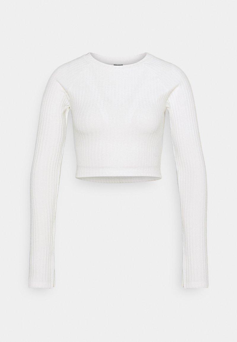 Gina Tricot - KINSLEY - Camiseta de manga larga - warm white