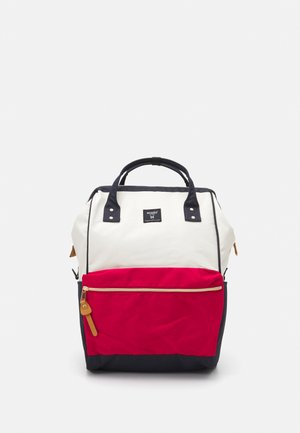 REPRIVE CROSS BOTTLE - Rucksack - offwhite/red/blue