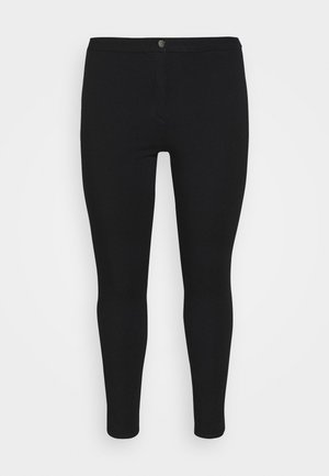 ANKLE SCULPT - Leggings - Trousers - black