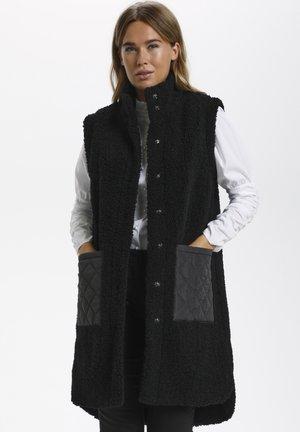 Waistcoat - black deep