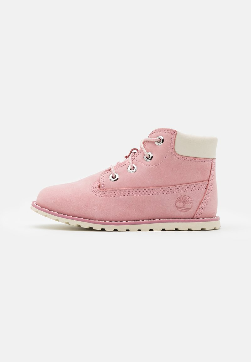 Timberland - POKEY  - Lace-up ankle boots - light pink