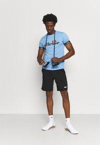 Ellesse - ALENTE - Print T-shirt - light blue - 1