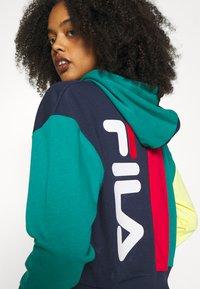 Fila - BAYOU - Sweatshirt - black iris/true red/teal green/aurora - 3