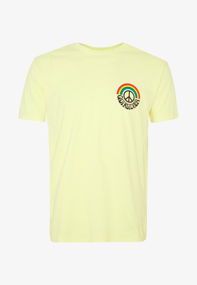 OG RAINBOW  - Print T-shirt - elfin yellow