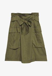 Gerry Weber Casual - GEWEBE KURZ - A-line skirt - olive branch - 0
