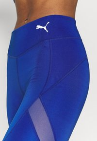 Puma - PAMELA REIF X PUMA MID WAIST LEGGINGS - Leggings - mazerine blue - 5