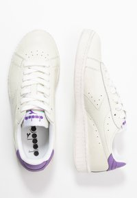 Diadora - GAME WAXED - Trainers - white/light violet - 3