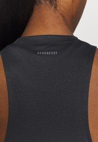 adidas Performance - TANK - Sports shirt - black - 5