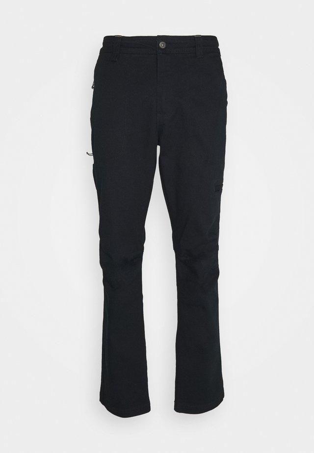 FLARE GUNWORK PANT - Kalhoty - black