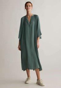 OYSHO - KAFTAN - Day dress - khaki - 0