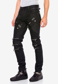 Cipo & Baxx - Straight leg jeans - black - 0