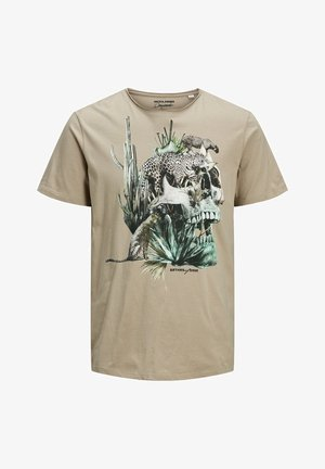 ISLAND  - Print T-shirt - crockery