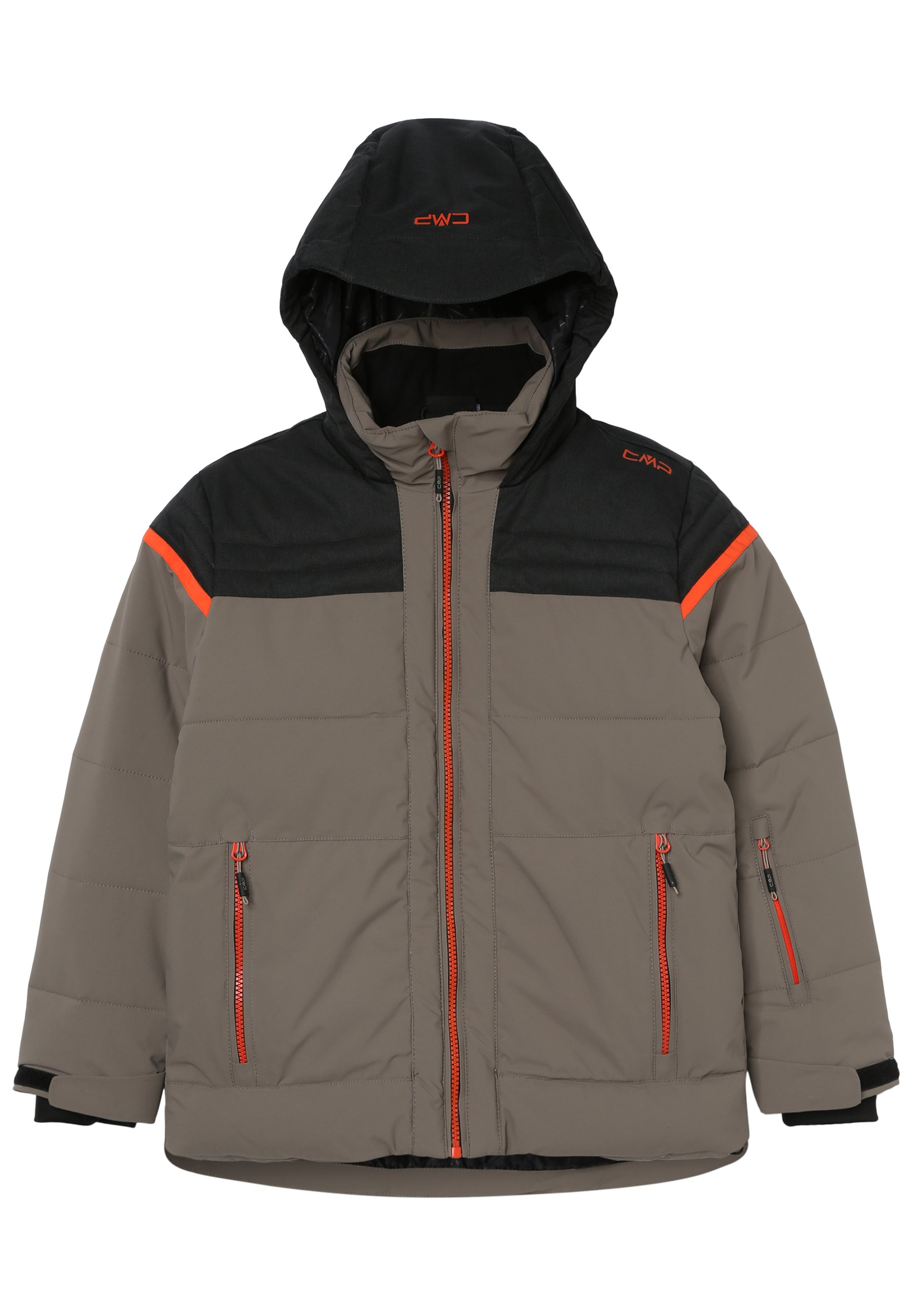CMP Softshelljacke Jacke BOY JACKET FIX HOOD orange wasserdicht atmungsaktiv