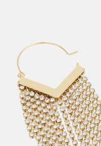 Pieces - PCPETRA EARRINGS - Earrings - gold-coloured/clear - 1