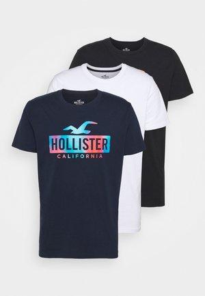 WEBEX PRINT 3 PACK - Marškinėliai su spaudiniu - white
