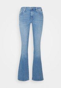 Mavi - BELLA MID RISE - Bootcut jeans - light sky glam - 6