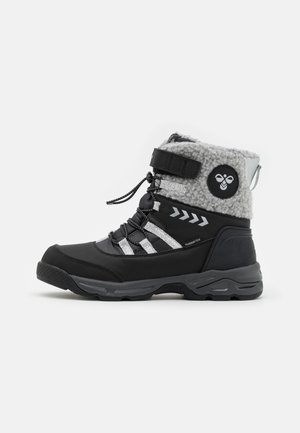 TEX JR UNISEX - Snowboots  - black/silver