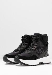MICHAEL Michael Kors - BALLARD  - High-top trainers - black - 4