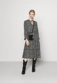 Vero Moda - VMFELICITY 7/8 CALF DRESS  - Day dress - black - 1