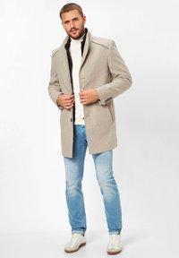 S4 Jackets - Classic coat - stone - 1