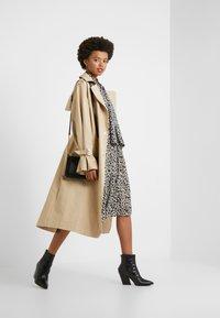 J.CREW - OCELOT PLEATED LEOPARD SKIRT - A-line skirt - natural multi - 1