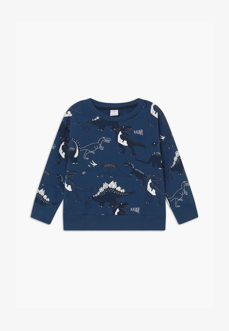 Lindex - MINI DINO - Sweatshirt - dark dusty blue
